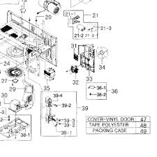 parts for samsung smh9207st xaa 0001 built in microwave oven parts for samsung smh9207st xaa 0001 built in microwave oven cabinet parts appliancepartspros com