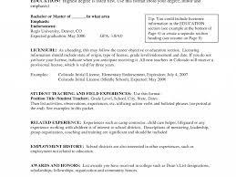 Special Education Teacher Resume Very Attractive Teaching Objective Special Education Teacher 38
