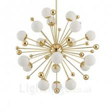 stunning 18 arm sputnik starburst chandelier light fixture light bulbs are not included can be hung on a ceiling on sloped ceiling and is easily