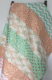 Peach Bedroom Curtains Mint Crib Bedding Etsy Peach And Curtains Il Full Msexta