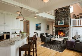 ... Living Room, Open Kitchen And Living Room Design Ideas9 Small Open Plan Kitchen  Living Room ... Awesome Ideas
