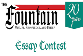 fountain magazine essay contest for writers worldwide usd  submission