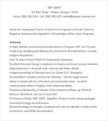 Career Objective For Resume For Civil Engineer Resume In Civil Engineering Foodcityme 81