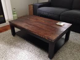 interior furniture coffee table fresh lack black brown vejmon oval side birch veneer vejmon coffee