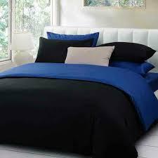 scheme black royal blue bedding set home decor of black and blue comforter set