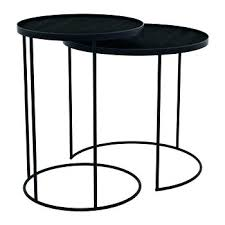 small black coffee table round black coffee table round nesting tray table set of 2 small
