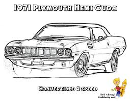 Small Picture Brawny Muscle Car Coloring Pages At Classic glumme