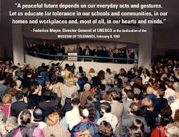 museum of tolerance home facebook image contain one or more people crowd and text