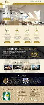 Web Design For Builders Elegant Playful Construction Company Web Design For A