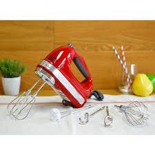kitchen aid hand mixer 9 sd kitchenaid khm926er empire red 9 sd hand mixer