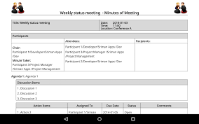 Meeting Minutes Pro Sale Android Apps On Google Play
