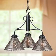 tin lighting. barrington chandelier tin lighting