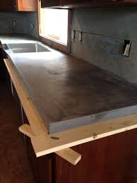 diy concrete countertops poured in place poured in place concrete countertop concrete objects