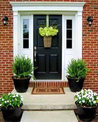 Beautiful Front Door Planter Ideas 03