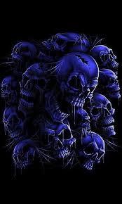 blue skull wallpaper new wallpapers