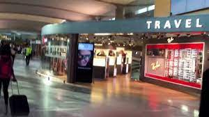 السوق الحرة في مطار اوسلو - YouTube
