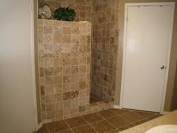 ... partial wall for walk in shower home decor walls bathroom showers no  doors door designs corner ...