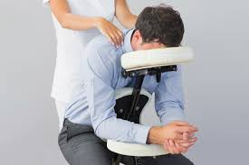 chair massage. chair massage h