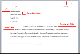 mla citation style overview writing explained mla header