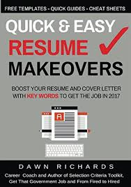 Download Quick Easy Resume Makeovers Boost Your Resume And Cover
