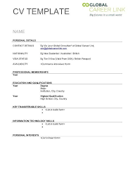 Blank Form Of Resumes Blank Resume Template 650 889 Resume Templates Free