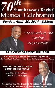 revival flyer info fairview missionary baptist church events