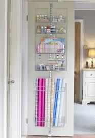 7 More Ways to Get Organized Using Doors. Gift Wrap ...