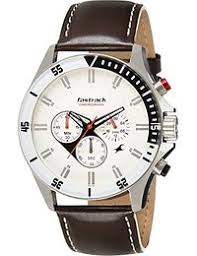 fastrack watches buy fastrack watches for men women online at fastrack big time analog white dial men s watch