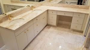 creamy white contemporary bathroom slab doors diana royale marble vanity countertops and tiles