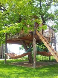 The Best Way To Build A Treehouse  WikiHowDiy Treehouses For Kids