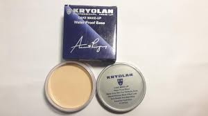 kryolan cake make up water proof base ivory f1 fs38 fs45