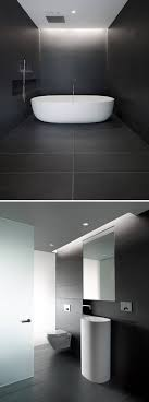 Dark Or Light Bathroom Bathroom Tile Idea Use Large Tiles On The Floor And Walls