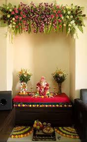 decoration for puja at home saraswati puja pandal decoration