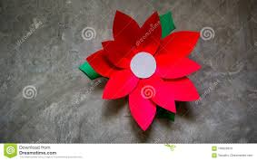 Christmas Paper Flower Wreath Paper Flower Poinsettias For Christmas Holiday Arrangements And