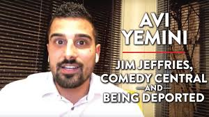 On Jim Jeffries, Comedy Central, and Being Deported | Avi Yemini | MEDIA |  Rubin Report - YouTube