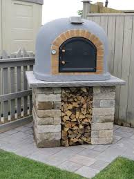 outdoor wood fired oven by prc