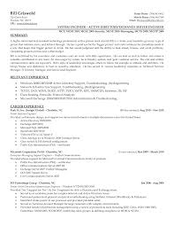 Network Support Engineer Sample Resume Interesting Cisco Support Engineer Sample Resume Alluring 24 It 23