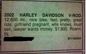 Image result for hilarious classifieds images