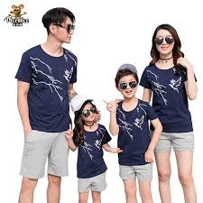 Online Shop <b>Family Matching Outfits</b> 2019 <b>Summer Fashion</b> T-shirt ...