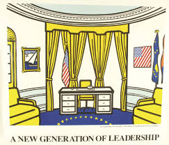 clinton oval office. Clinton Oval Office By Roy Lichtenstein 0