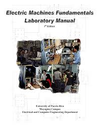 uprm electric machines laboratory manual