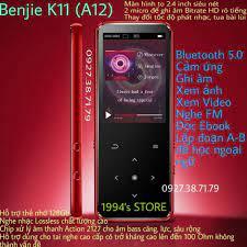 CÓ SẴN) Máy nghe nhạc Benjie K11 (Benjie A12) Bản 2021 Lossless Hifi  Bluetooth 5.0 màn hình cong 2,5D tặng kèm quà tặng