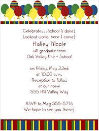 Preschool Graduation Announcements 14 Best Photos Of Preschool Graduation Invitation Sample