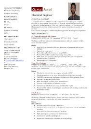 Engineering Cv Template Resume Examples Sample Hvac Hardware