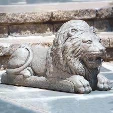 lion garden statue large lion outdoor garden statue large lion statues outdoor