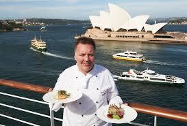 Carnival Australia - Arcadia's Executive Chef Ian Summers