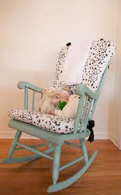 Furniture Glider Footstool New Mother Rocking Chair Rocking