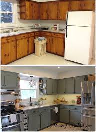 diy white kitchen cabinets before and after and before after houseofgold kitchen of diy white