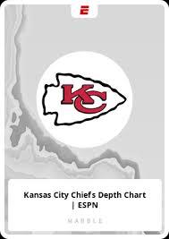 Kansas City Chiefs Depth Chart Espn Card 24179 Marblecards