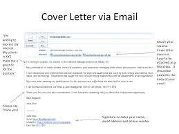 Resume Cover Letter Tips Inspiration How To Make A Resume Cover Letter Email Cover Letter Resumes